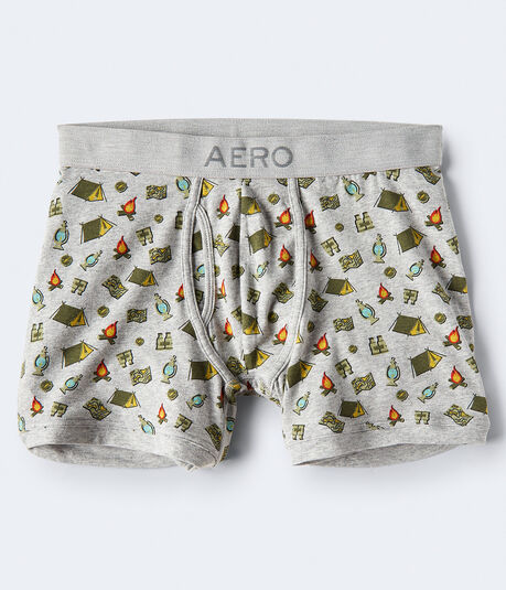 Camping Knit Boxer Briefs