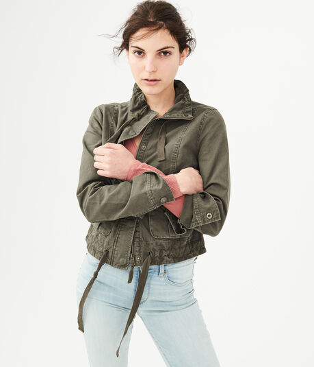 Cropped Surplus Jacket