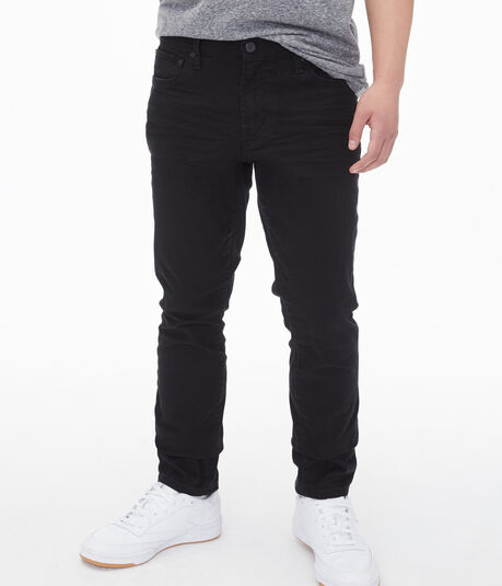 Skinny Black Wash Stretch Jean