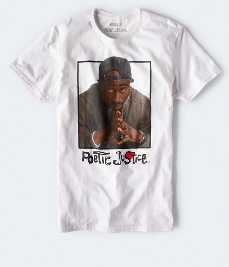 Poetic Justice Tupac Graphic Tee