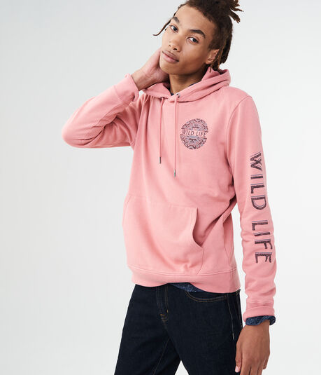 Wild Life Pullover Hoodie