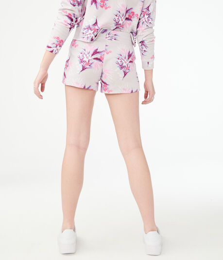Flowerburst Fleece Shorts