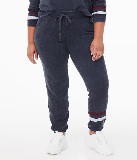 Stripe Cinched Sweatpants