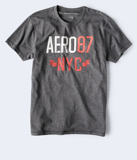 Aero 87 NYC Logo Graphic Tee
