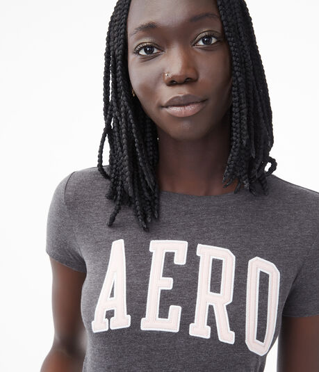 Aero Block Letter Graphic Tee
