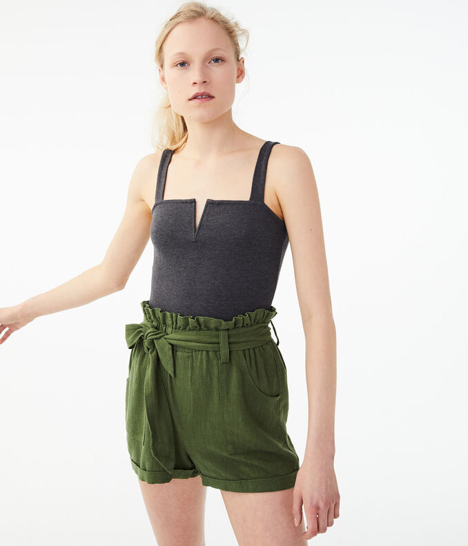 Seriously Soft Square-Neck V-Wire Tank