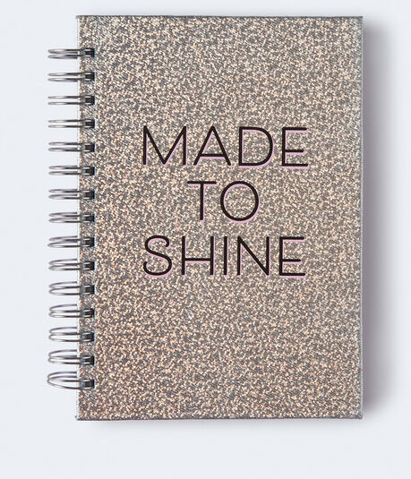 Made To Shine Spiral Notebook