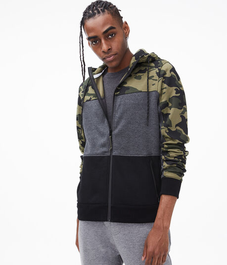 Colorblocked Tech Fleece Full-Zip Hoodie