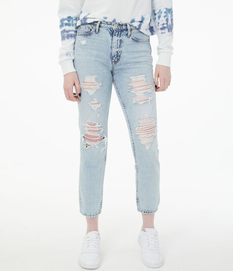 Real Denim High-Rise Mom Jean