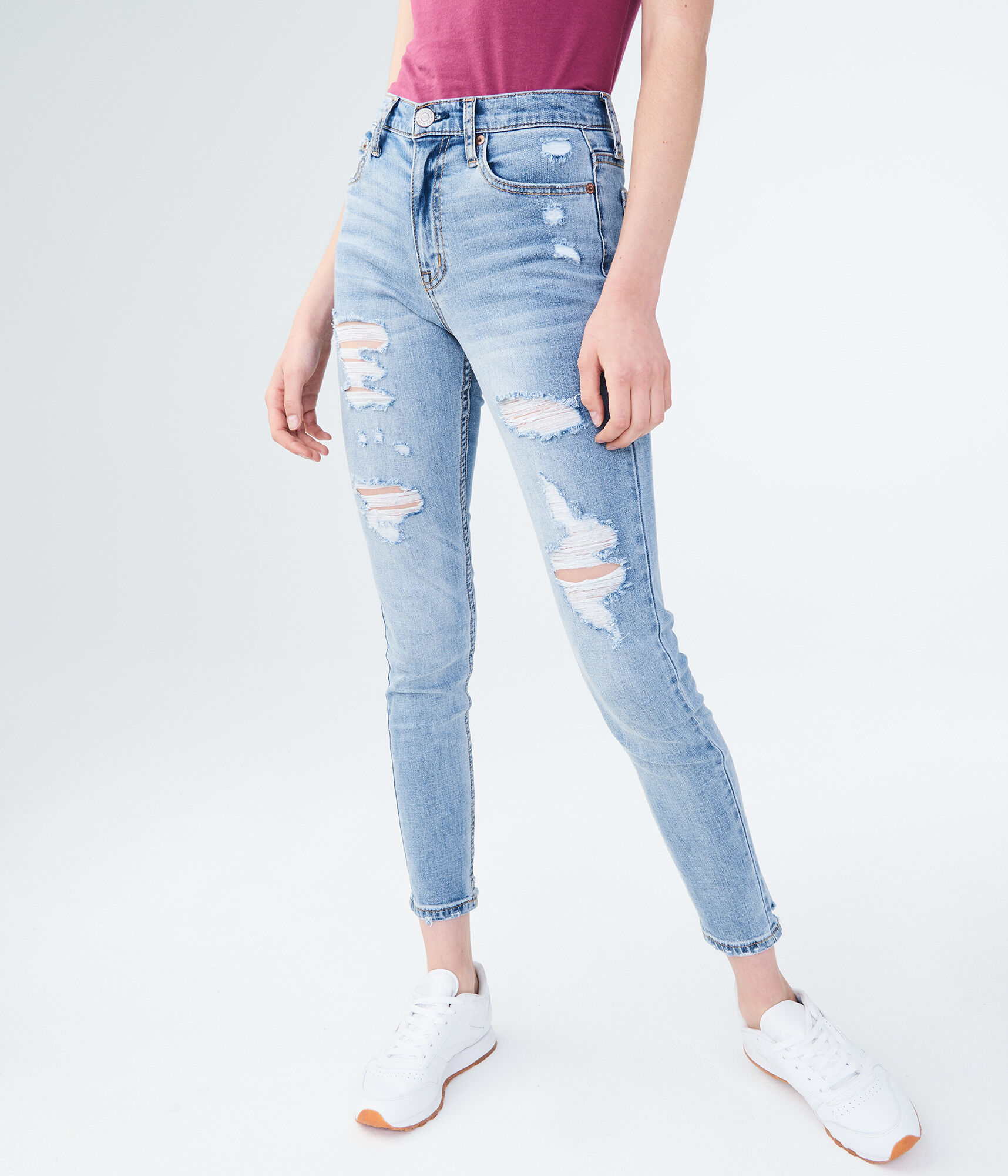 High Waisted Cheeky Jegging