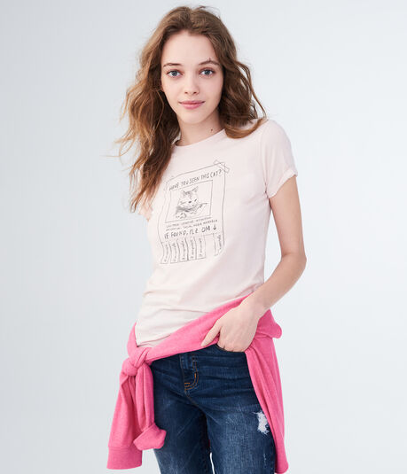 Have You Seen This Cat Graphic Tee