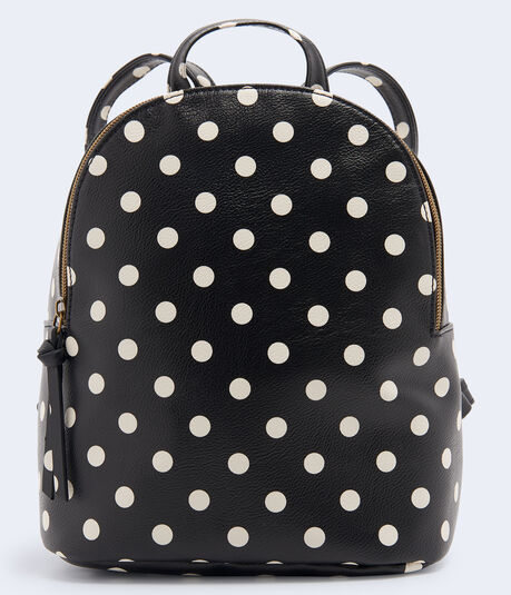 Polka Dot Mini Backpack