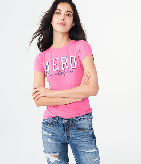 Aero Nineteen Eighty Seven Graphic Tee