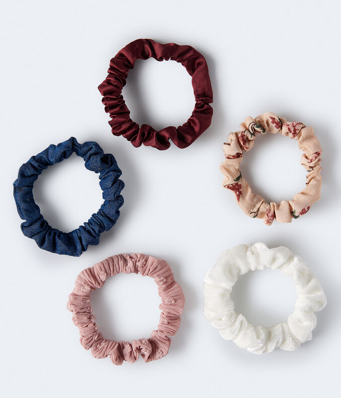Mini Scrunchie 5-Pack