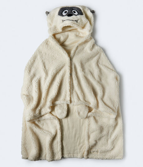 Hooded Yeti Blanket