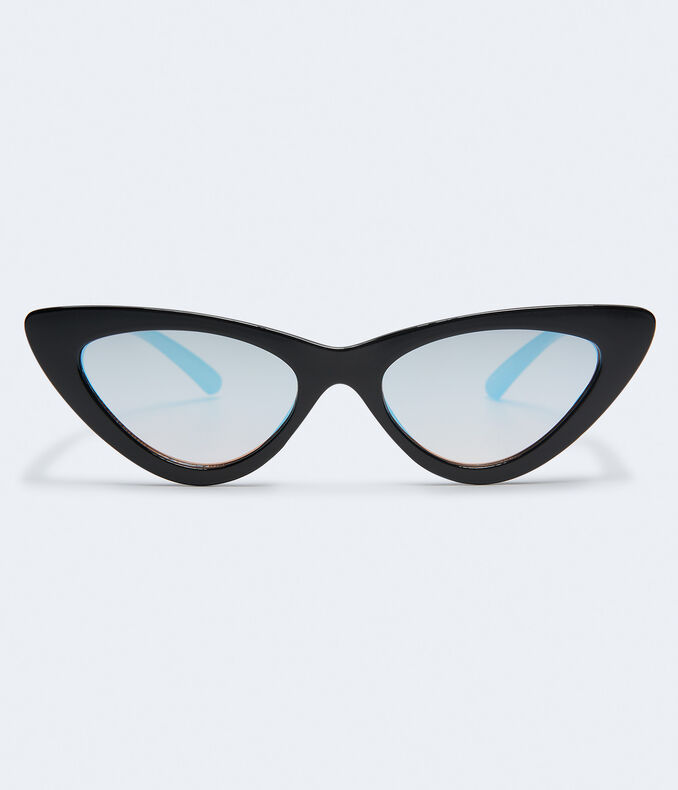 8a3276a889d Images. Clearance. Cateye Mirrored Sunglasses