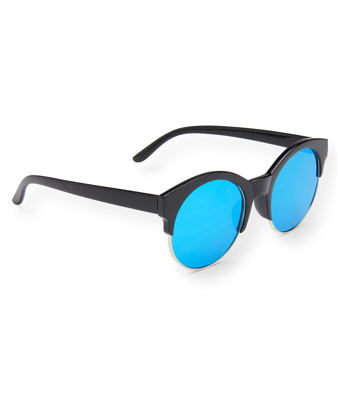 Colored Lens Round Sunglasses