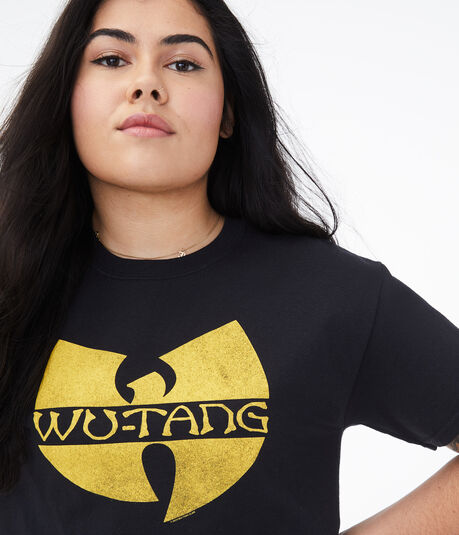 Wu-Tang Clan Cropped Graphic Tee