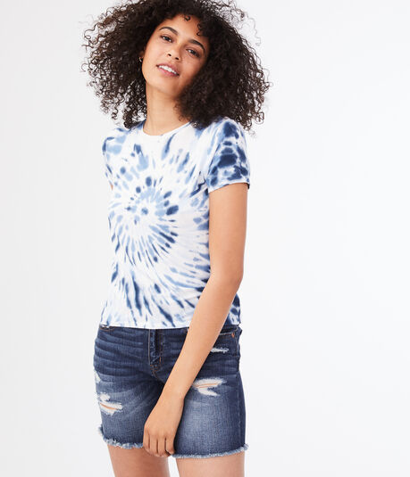 Seriously Soft Tie-Dye Girl Tee