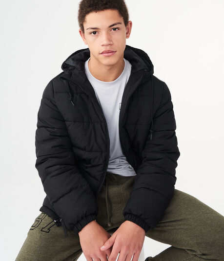 Classic Hooded Puffer Coat