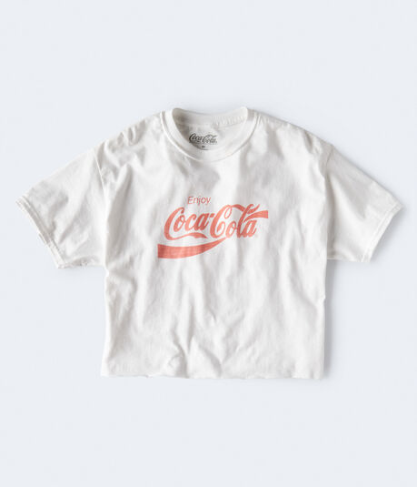 Coca-Cola Crop Graphic Tee