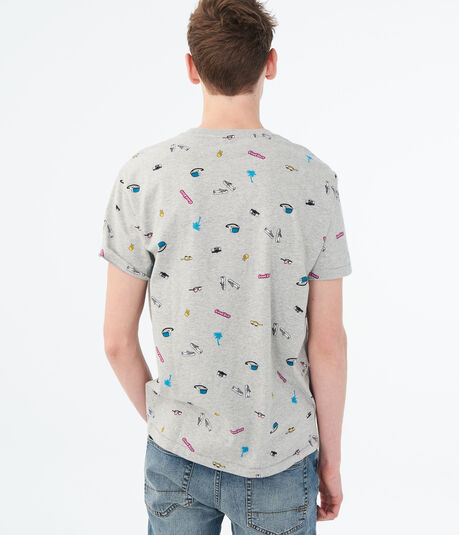 Small Icons Graphic Tee