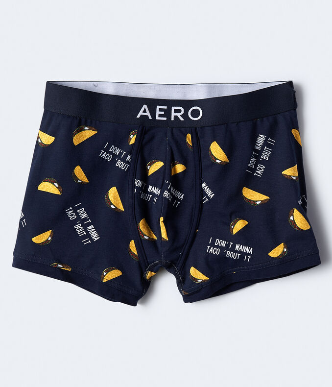 Don't Wanna Taco Bout It Knit Trunks