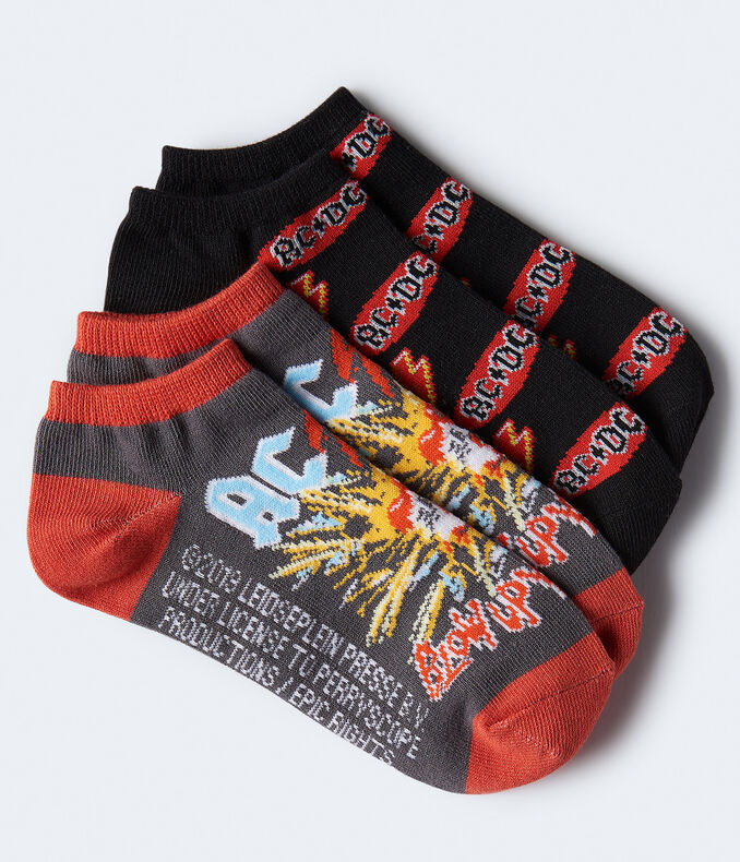 AC/DC Ankle Sock 2-Pack