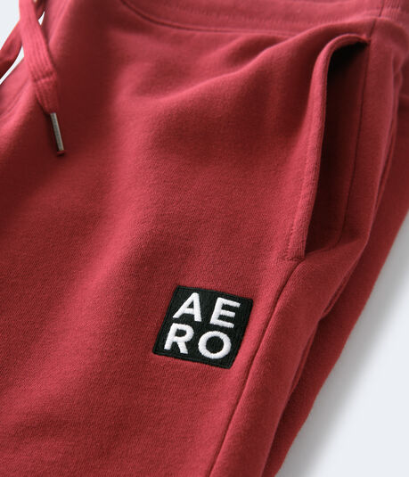 Stacked Aero Logo Patch Jogger Sweatpants