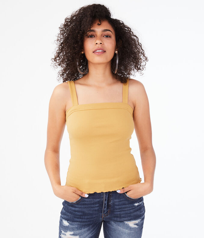 Seriously Soft Square-Neck Tank