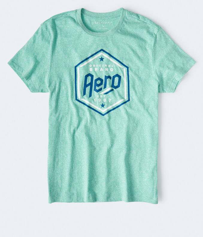 Aero Original Brand Hexagon Graphic Tee