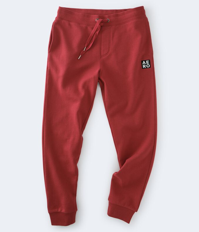 Aero Box Logo Patch Jogger Sweatpants