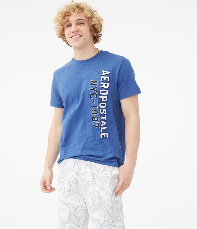 Vertical Aeropostale NYC-1987 Graphic Tee