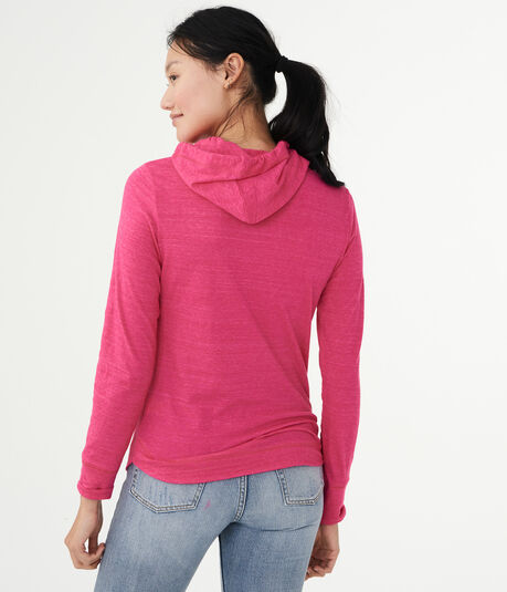 Lightweight Aeropostale NYC Pullover Hoodie