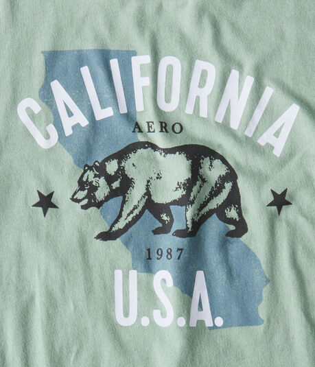 California Bear Graphic Tee