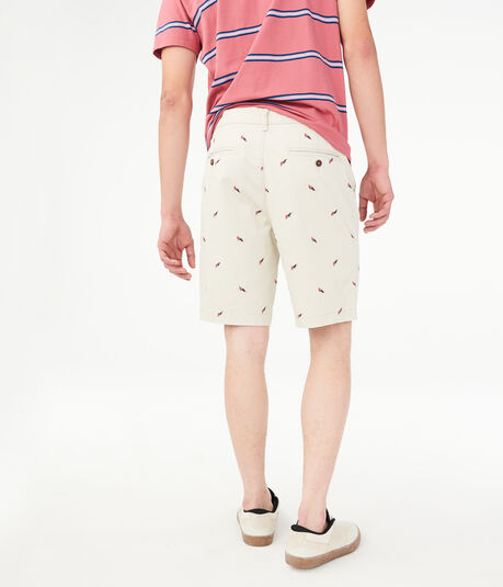 """Parrot 9.5"""" Stretch Shorts"""