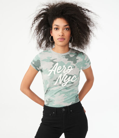Aero NYC Camo Graphic Tee