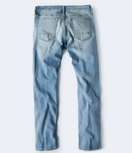 Real Denim Slim Straight Stretch Jean
