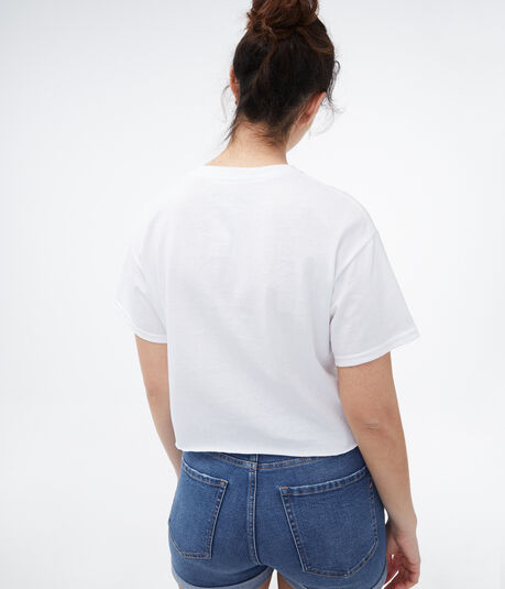 Seinfeld Logo Cropped Graphic Tee