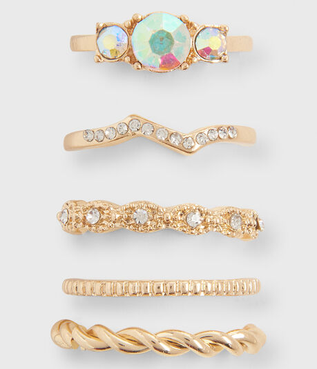 Textured Ring 5-Pack