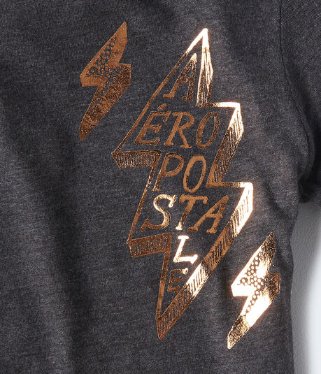 Aeropostale Lightning Graphic Tee