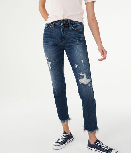 High-Waisted Ankle Skinny Jean