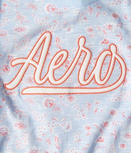 Aero Floral Graphic Tee