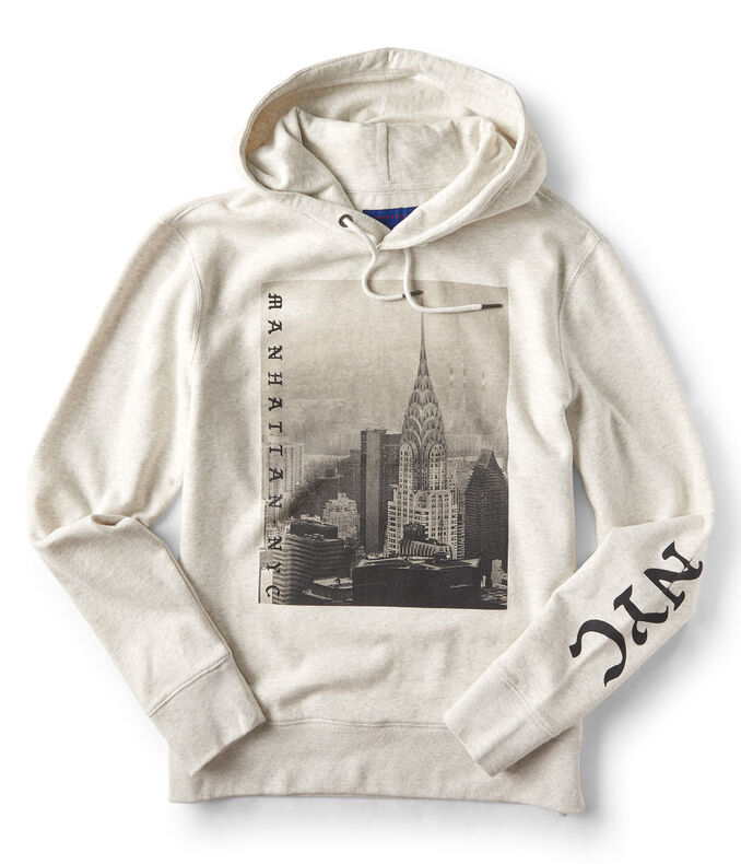 241904c1cd0b6 Images. Clearance. Manhattan NYC Pullover Hoodie