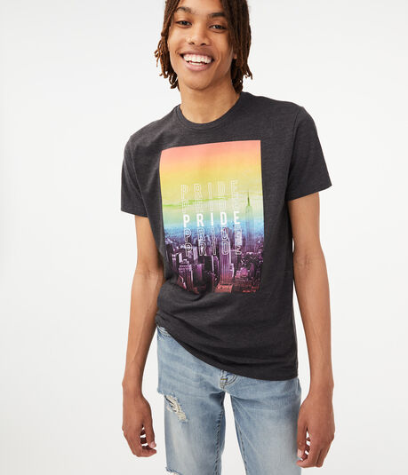 Repeating Pride Graphic Tee