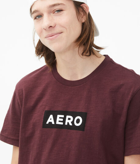 Boxed Aero Logo Graphic Tee