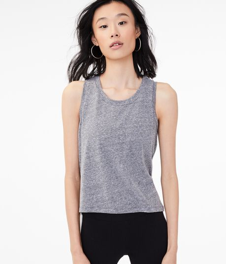 High-Low Muscle Tank