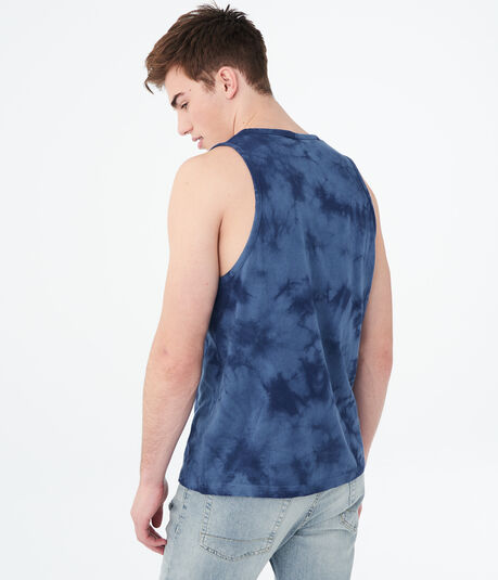 We're On A New Level Tie-Dye Tank
