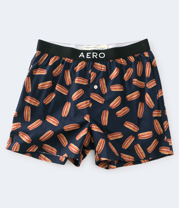 Hot Dog Woven Boxers