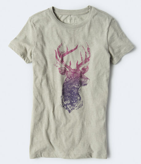 Free State Darling Deer Graphic Tee